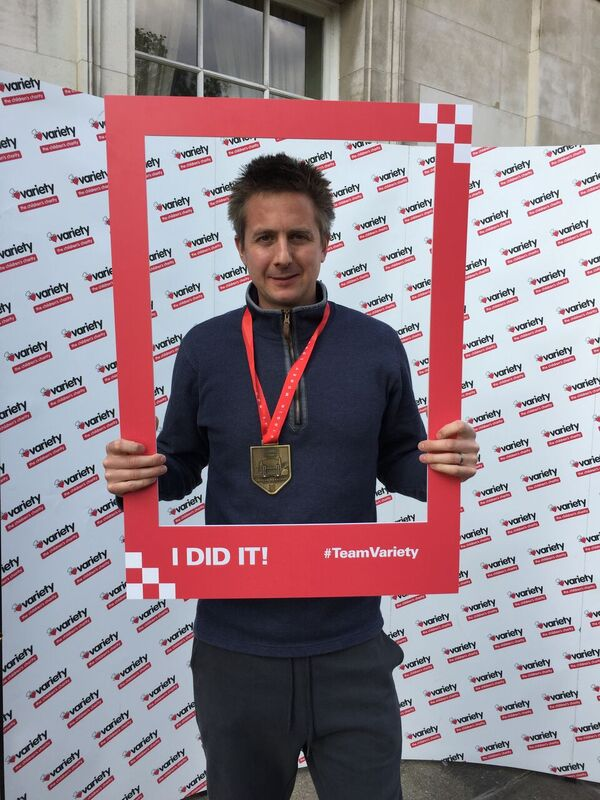 Andrew Cherry Medal London Marathon 2017